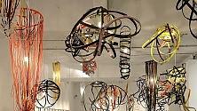 Tobias Rehberger  luci e geometria