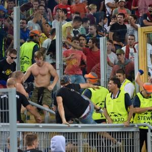 Olimpico, due tifosi russi feriti fuori dello stadio