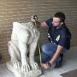Recuperata sfinge etrusca rubata a Cerveteri  Foto