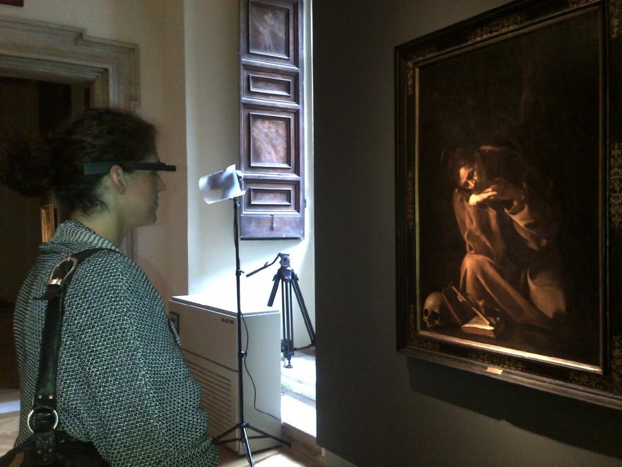 Google glass per la volta in un museo italiano: la tecnologia incontra Caravaggio