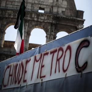"""Metro C, l'annuncio del ministero dei Trasporti: """"Salta l'inaugurazione fissata per l'11 ottobre"""""""