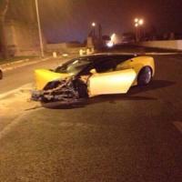Corso Francia, Keita della Lazio perde il controllo della Lamborghini e si schianta:...