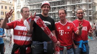 Champions, allerta per Roma-Bayern i supporter tedeschi scortati all'Olimpico