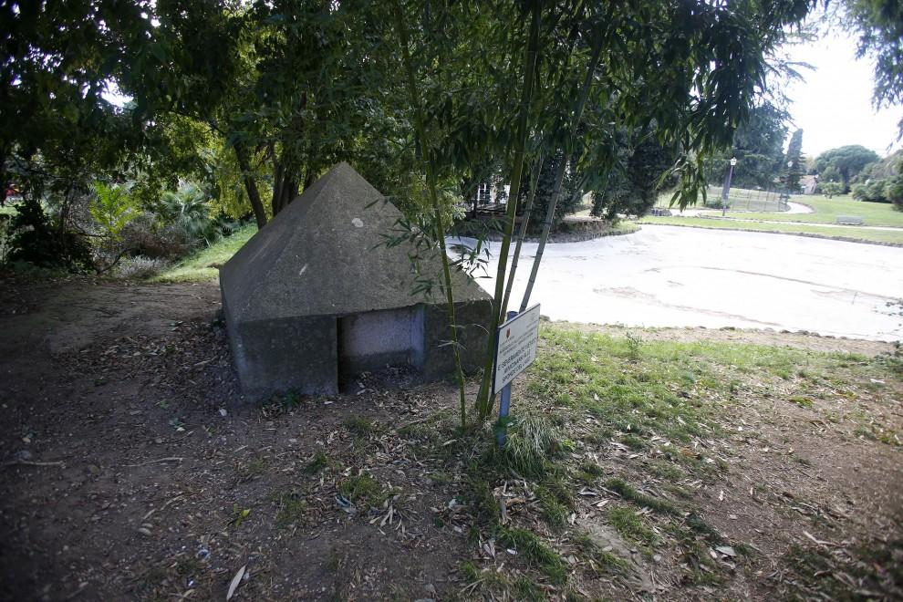 Villa Torlonia: restaurato il bunker di Mussolini - 1 di 1 - Roma ...