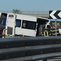 Incidente sulla A1 vicino a Roma: sei morti e quattro feriti