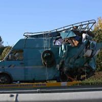 Incidente sulla A1 vicino a Roma: sei morti, tra cui una bimba di 15 mesi, e otto feriti