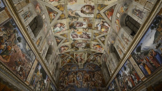 Nuova luce sulla Cappella Sistina, settemila led per ammirare il capolavoro di Michelangelo