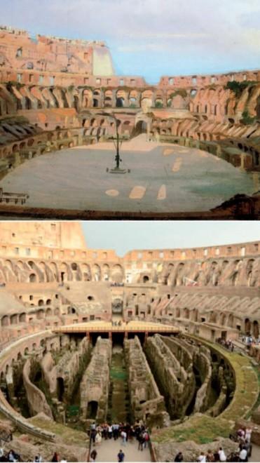 L'arena al Colosseo