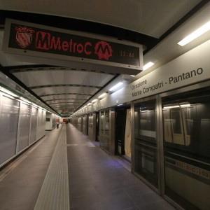 Metro C, domenica all'alba l'apertura della prima tratta