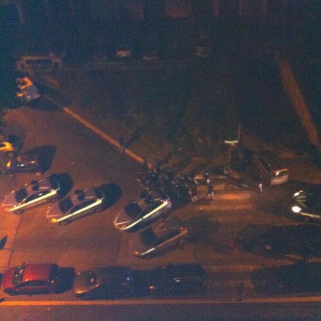 Tor Sapienza, i residenti in strada contro gli immigrati