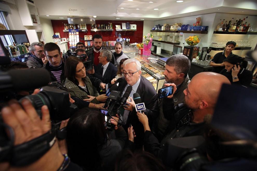 """Borghezio a Tor Sapienza con i dirigenti di Casa Pound: """"Ma non voglio creare problemi"""""""