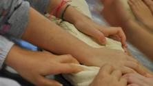 """I bambini a scuola di """"acqua e farina"""""""