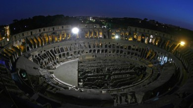 """Colosseo, l'idea di Franceschini : """"Ricostruire l'arena per show non per Roma-Bayern""""    Vd"""