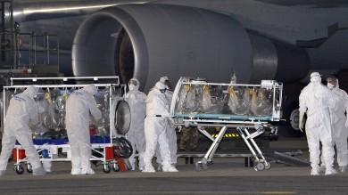 Ebola, è  a Roma  il medico contagiato    Ft    Allo  Spallanzani : C'è paura ma siamo pronti