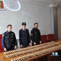 Roma, nell'ex Poligrafico sgomberato trovate 143 bombe carta