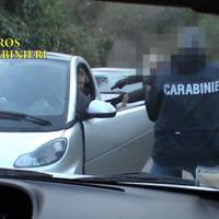 Mafia Capitale, la cattura di Carminati: fotosequenza