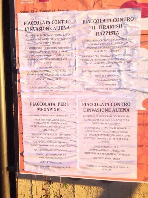 Mafia Capitale, a Sacrofano corteo per la legalità. Ma nel paese di Carminati spuntano manifesti contro la fiaccolata