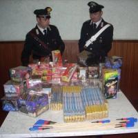 Capodanno, sequestrati oltre 1200 chili di fuochi d'artificio pericolosi