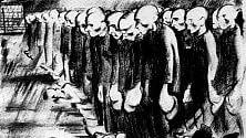 Shoah, l'orrore dei lager nei disegni degli internati