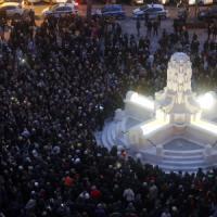 Piazza Testaccio, torna la fontana delle Anfore