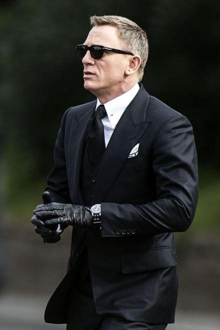 James Bond Set Al Colosseo Craig In Auto In Via Di San