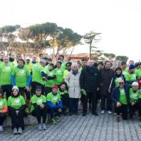 Maratona di Roma, flash mob in periferia