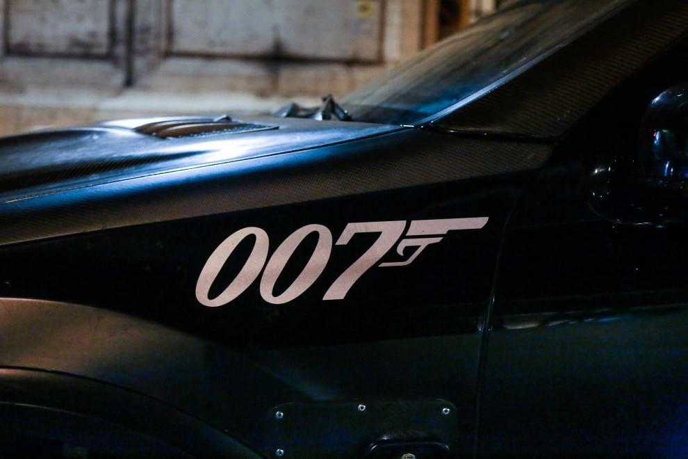 007, inseguimento sulla Nomentana per James Bond