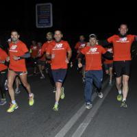 Pigneto, flash mob per la Maratona di Roma