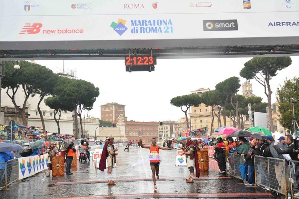 Maratona di Roma, ecco i vincitori