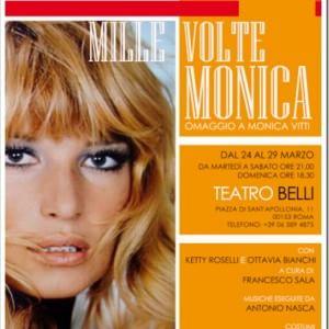 """""""Mille volte Monica"""", l'omaggio alla musa di Antonioni e Monicelli"""