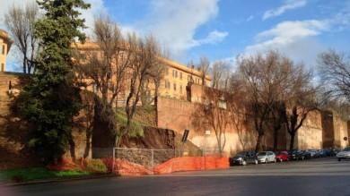 "Mura Aureliane, la sovrintendenza   ""Serve un intervento urgente"""