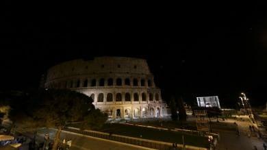 Eart Hour, dal Colosseo al Campidoglio  luci spenti per l'ambiente  Foto