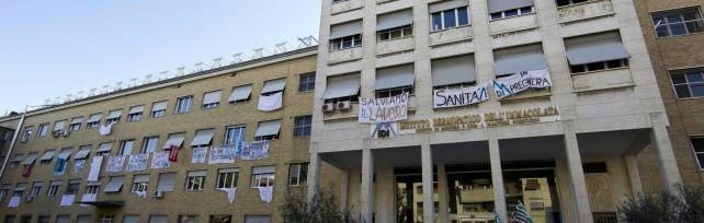 """Ospedale Idi, medici e infermieri in rivolta   """"Nuova mobilitazione, piano irrecevibile"""""""