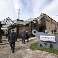 L'inaugurazione del museo comunale del Pleistocene a Casal de' Pazzi