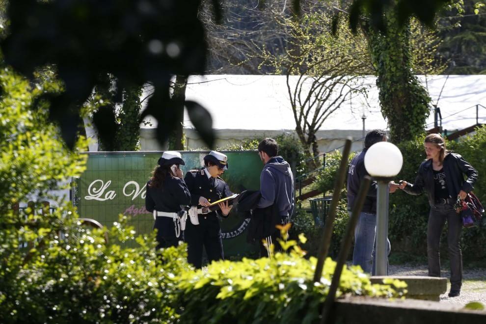 Il centro di addestramento per cani a Roma dove è morto il titolare schiacciato da un masso