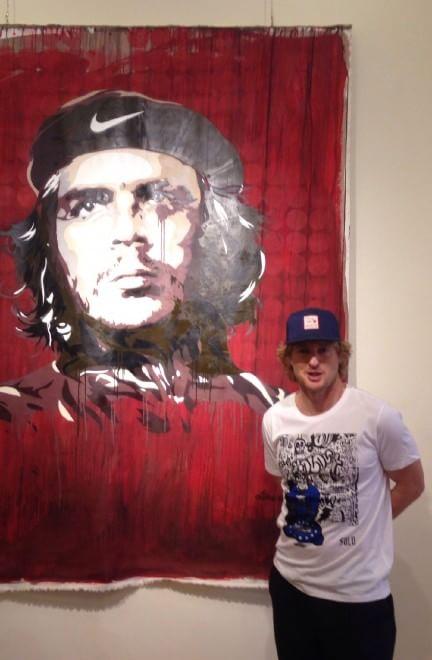 Owen Wilson visita la street art di Roma