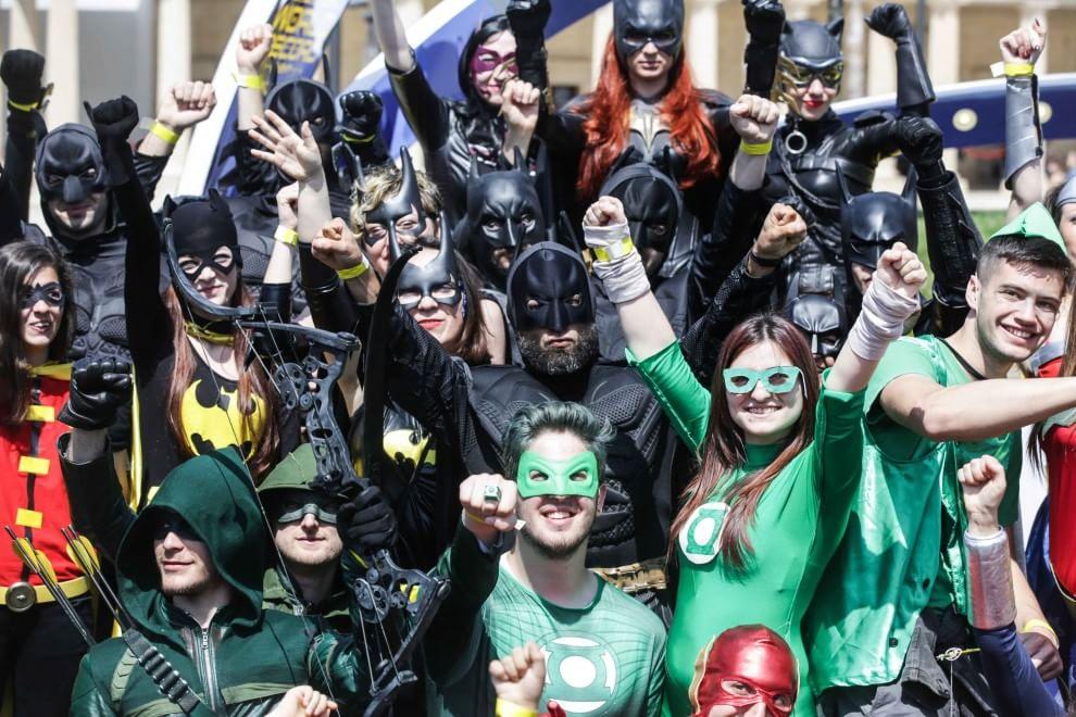 Da Batman a Superman, a Cinecittà World la sfilata da record di supereroi