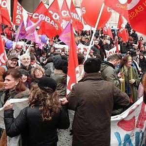 Sindacati in piazza contro la riforma della Buona scuola