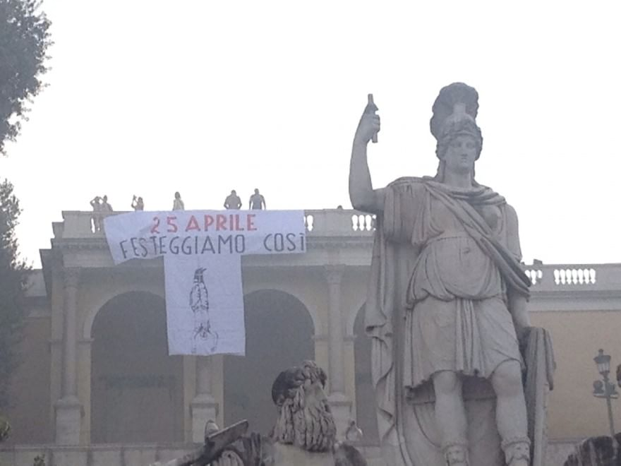 25 Aprile Guerra Di Manifesti Tra Fascisti E Antifascisti