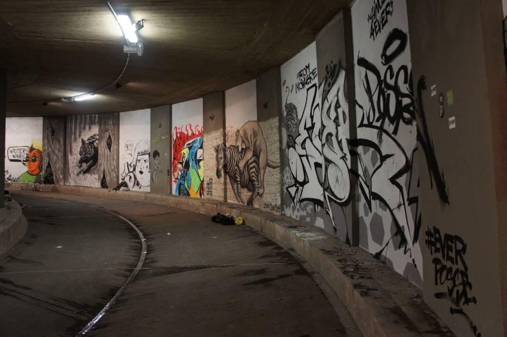 Murales e graffiti, gli street artist si sfidano alla Rampa Prenestina