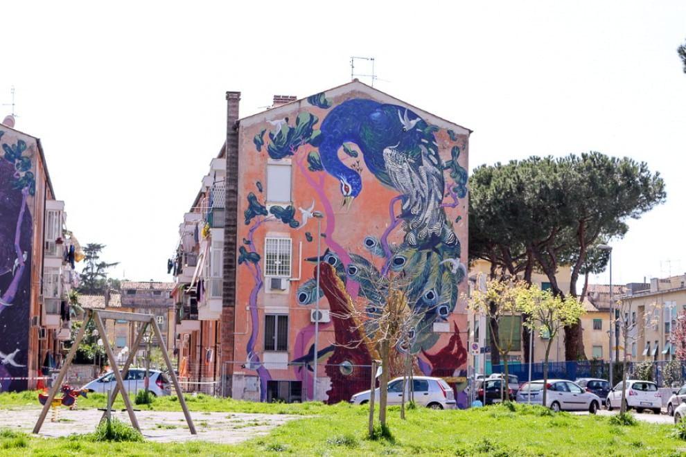 La guida della street art a Roma, le opere