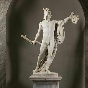 Torna a splendere il Perseo nel marmo vivente di Canova
