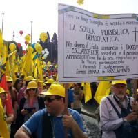'L'Unione fa la scuola', insegnanti e studenti in piazza a Roma