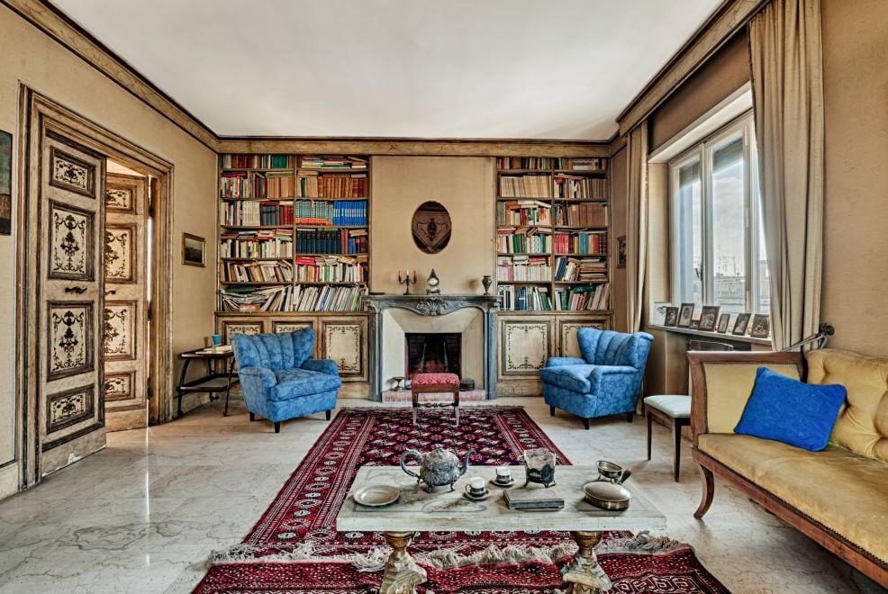 Ai parioli in vendita l 39 attico di 250mq di propriet di for Case con stanze nascoste in vendita