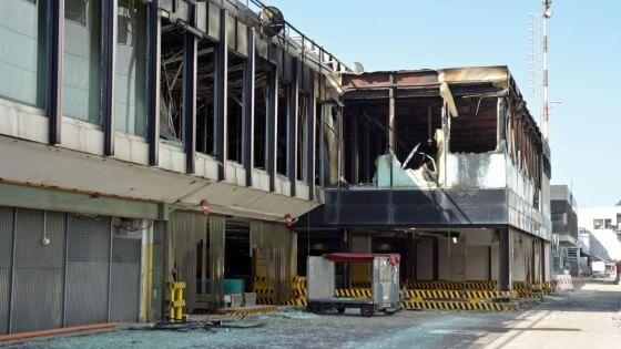 Incendio all'aeroporto di Fiumicino, in arrivo i primi indagati