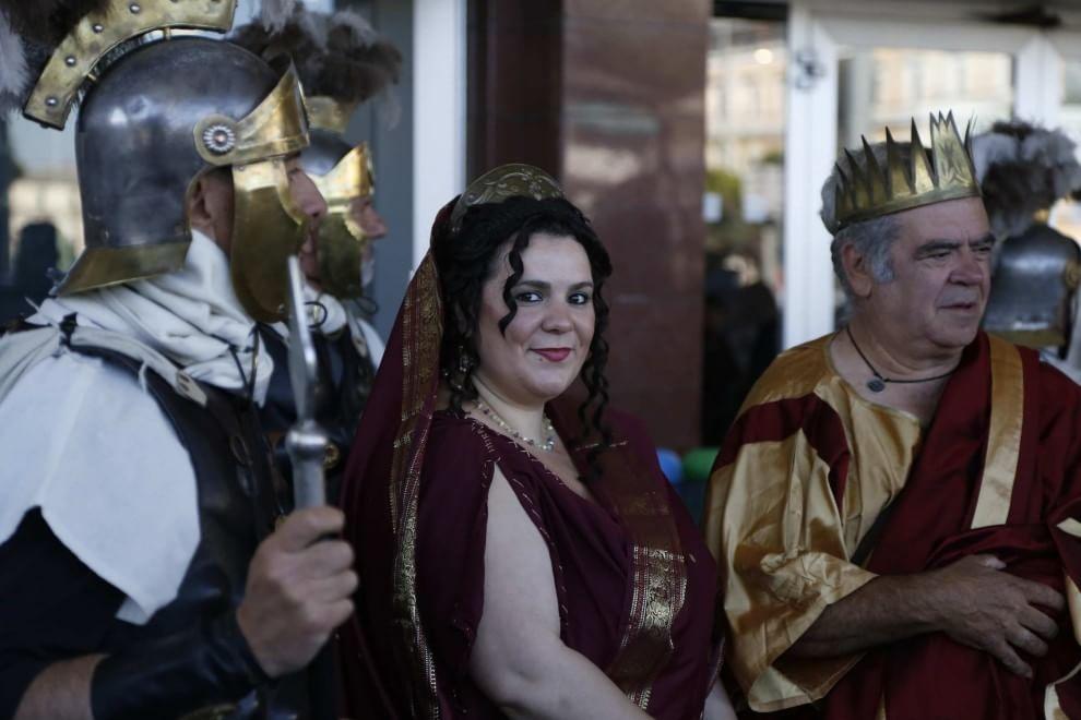 gli antichi romani in treno alla conquista dell'Expo