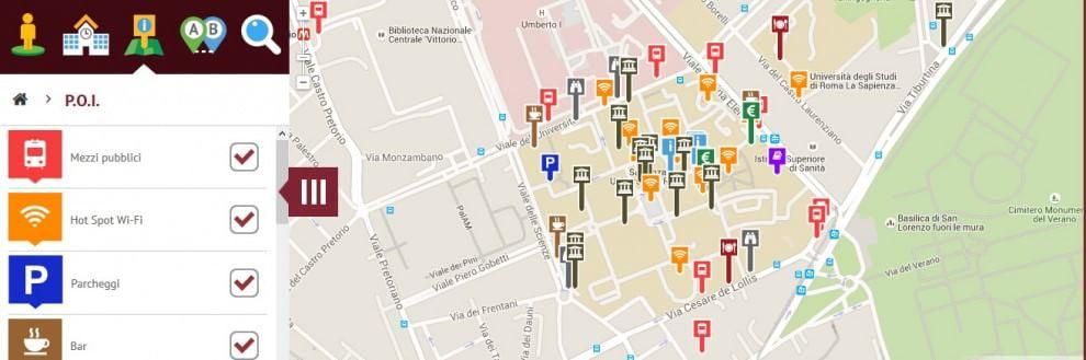 Sapienza, il virtual tour per orientarsi tra aule, mense e biblioteche