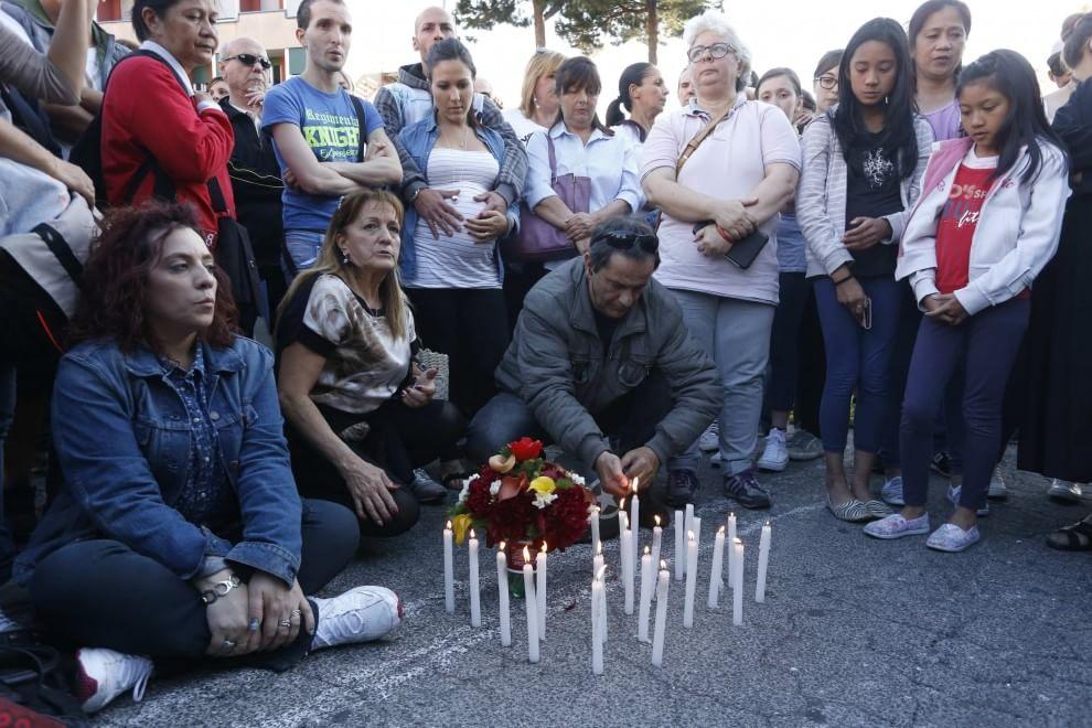 Incidente Roma, il doppio sit-in: in piazza la destra con il tricolore e le suore in preghiera