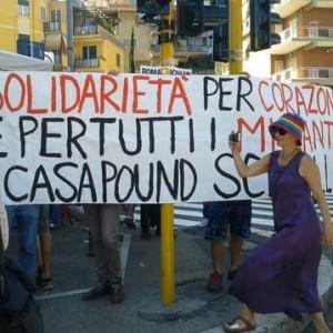 Incidente Boccea, sit-in di Casapound: tensione alta nel quartiere. Spintoni e manganellate al presidio antirazzista