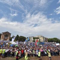 Family day, in piazza a Roma contro le unioni civili